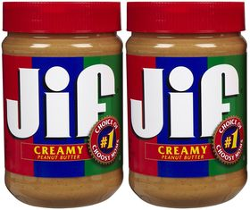 JIF Creamy Peanut Butter (pack of 2)